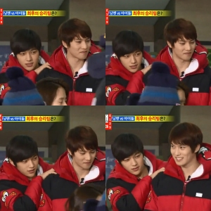 JongHyun (CNBLUE) - L (Infinite) at Running Man episode 129